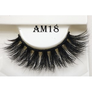 China Lashes Factory High Quality 3D Mink Lashes Wholesale-V