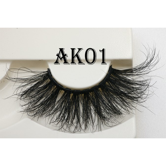 Long thick 25mm mink lashes manufacturer - A