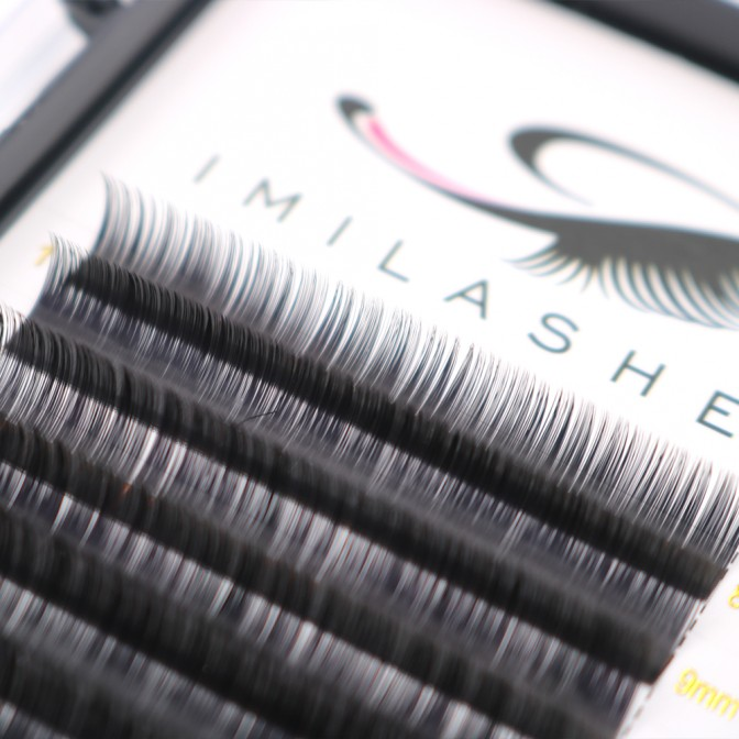 0.03 Volume Lash Extensions Manufacture High Quality Lashes-V