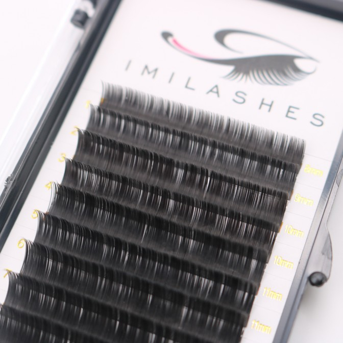 0.05 Mega Volume Eyelash Extendions Russian Lashes Manufacturer - V