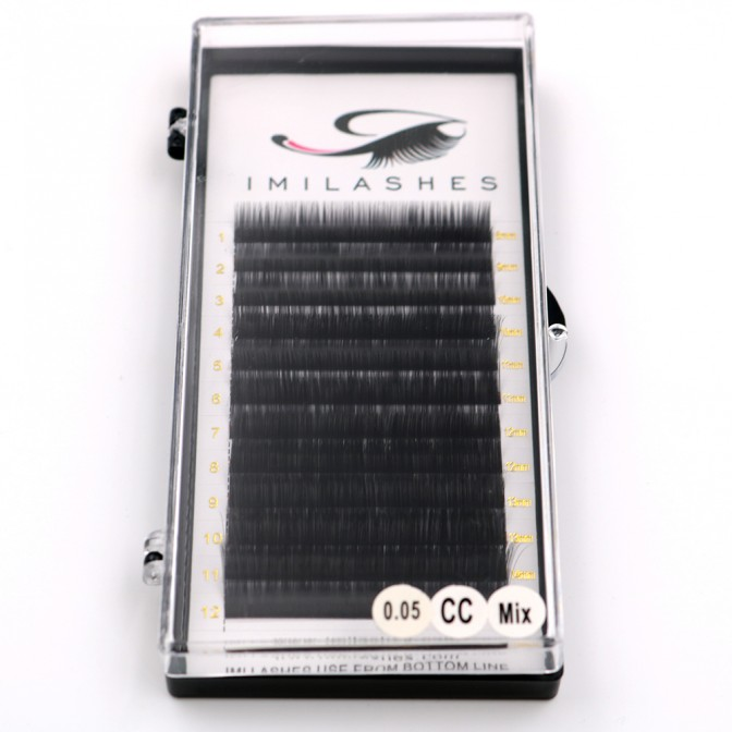 0.05 CC Volume Eyelashes High Quality Lash Extensions Wholesale - V