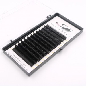 0.07 Fast Fanning Lashes PBT Fiber Eyelash Extensions Wholesale - V