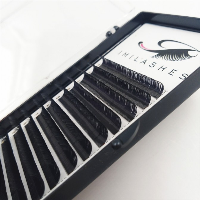 0.07 DD Mix Length Eyelash Extensions Wholesale - V