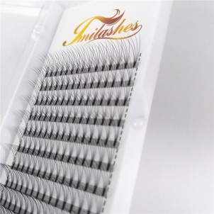 4D 0.10 Premade Fan Lash Extensions Wholesale Premade Fan Lashes- V