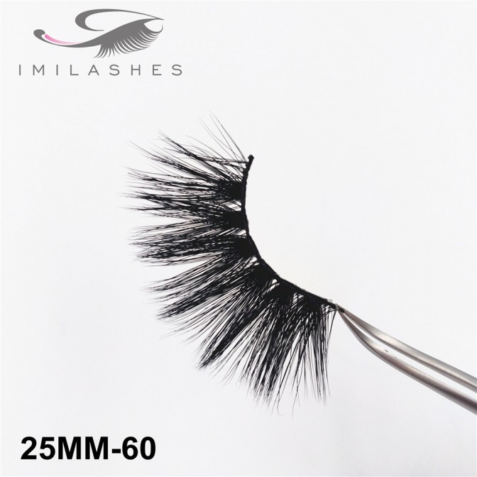 25 mm Mink Lashes Chinese Professional Factory-V