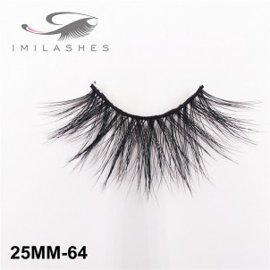 Beautiful Fluffy Durable 25 mm Mink Lashes Wholesale-V