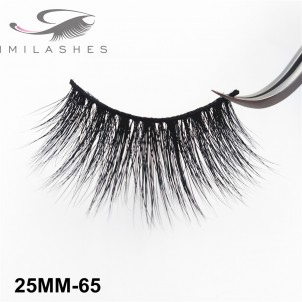 Chinese Factory 25 mm Mink Lashes Wholesale-V