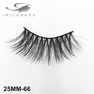 High Quality 25 mm 5D Mink Lashes Wholesale-V
