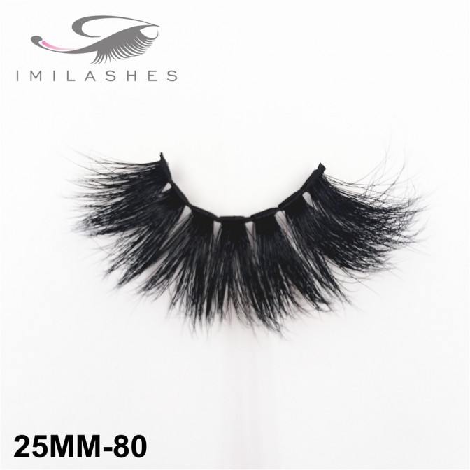 25 mm 5D Mink Lashes Professional Chinese Vendor Supply-V