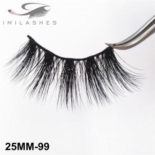 25 mm Mink Lashes Supplyn By Chinese Eyelash Factory-V