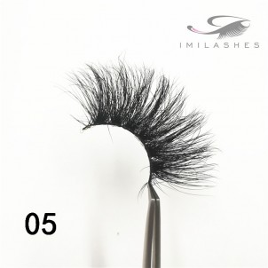 Longer thicker 25mm natural eyelashes wholesale - A
