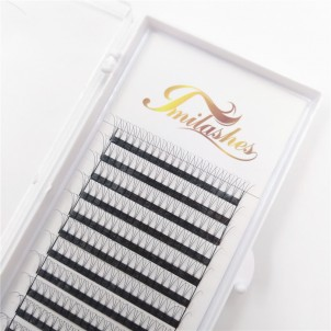 3D 0.10 C Pre Made Fan Soft Lightweight Lashes Supply- V