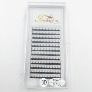 3D 0.10 Russian Volume Premade Fan Lash Extensions Wholesale- V