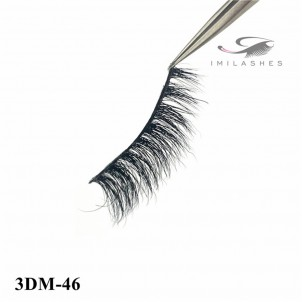 With Privite Label 3D Mink Lashes Wholesale-V
