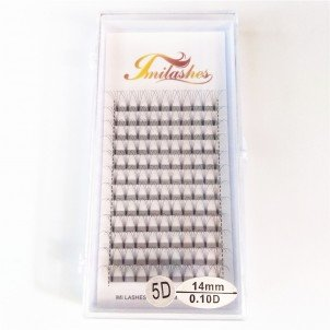 5D 0.10 D Curl Premade fan Lash Extensions Wholesale- V