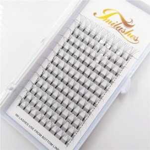 5D 0.10 D 15 mm Premade Fan Lashes Supply- V