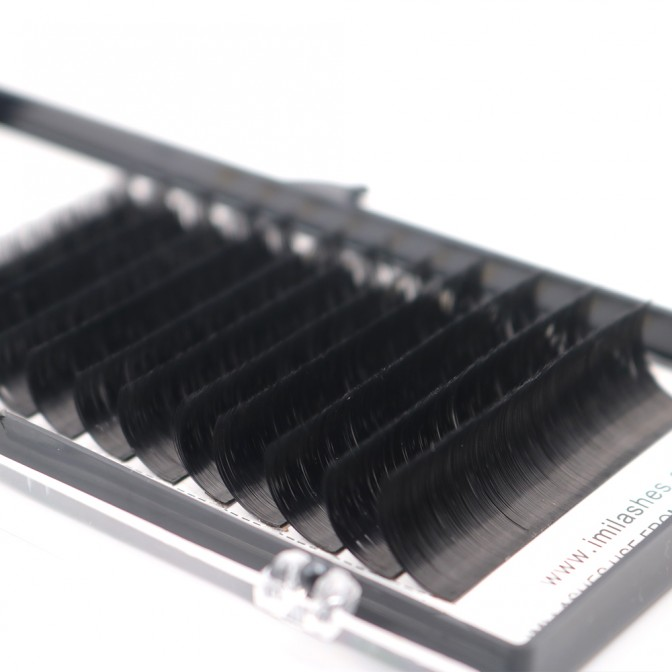 0.07 Blooming Easy Fan Lashes Extensions Supply - V