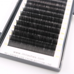 0.15 Ellipse Lash  High Quality Flat Eyelash Extensions Vendor - V