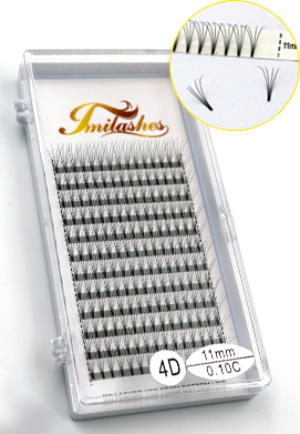 Premade fans volume eyelashes